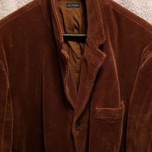 Polo Ralph Lauren coudoroy brown blazer